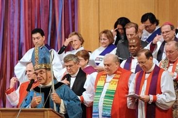 """ЭКУМЕНИЗМ «ПО БЛАТУ»: митр. Иларион благословил «почетного англиканина» участвовать в православном богослужении. """"ГЛАС ПРАВОСЛАВНОГО НАРОДА"""" - ГАЗЕТА ДЛЯ ПРОСТЫХ ЛЮДЕЙ"""