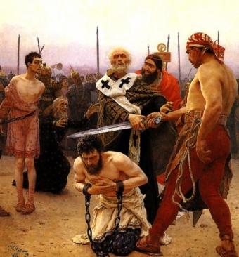 'ГЛАС ПРАВОСЛАВНОГО НАРОДА' - ГАЗЕТА ДЛЯ ПРОСТЫХ ЛЮДЕЙ. ГОСУДАРСТВЕННЫЙ МЕЧ И ОГОНЬ: взгляд на смертную казнь в православных странах