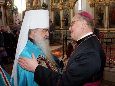 Апостасия в Белорусской Церкви :: На вопрос архиерея-экумениста «готовы ли вы служить с католиками» все священники, кроме одного, ответили положительно