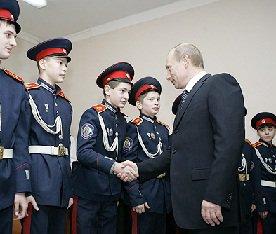 Уникальная роль казачества :: Президент России одобрил работу казаков по охране общественного порядка