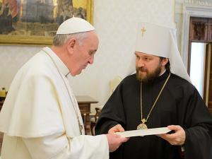 Бомба митрополита Илариона :: «Католики не еретики» и «Мы признаем действительность таинств католиков»