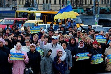 От майдана революционного к майдану сектантскому :: По «европейской Украине» проходят межконфессиональные «молитвенные вече»