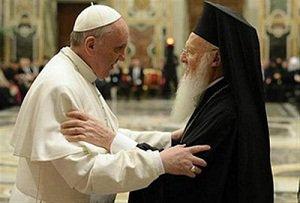 «Острая потребность» патриарха Варфоломея :: Готовится встреча главы Вселенского Патриархата с «братом» – папой римским