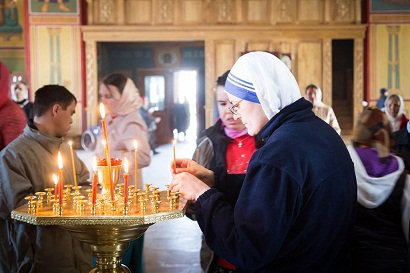 Католическое внедрение в жизнь православных приходов :: «Матери терезы» и англиканский хор на службах в наших храмах (ФОТО)