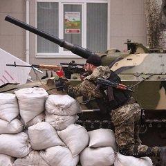 Жены плачут, мужи занимают позиции :: Киевская хунта начала штурм Юго-Востока Украины (ВИДЕО «Погибаем, но будем стоять до конца»)