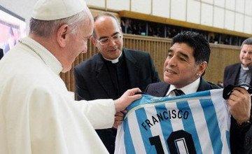 Мировой межконфессиональный футбол :: Папа римский организовал грандиозный футбольный «миротворческий» матч