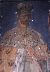 В сербском монастыре начались реставрационные работы в храме, где тайно хранили портрет царя Николая II