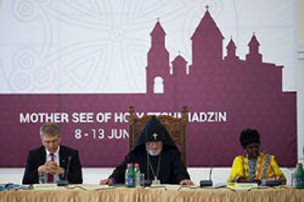 Заседание исполкома Всемирного совета Церквей проходит в духовном центре армян Эчмиадзине