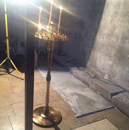 В Грузии в монастыре святой Нины проявился образ святого Гавриила (Ургебадзе)