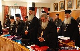 Еще три митрополита Элладской Православной Церкви отказались от участия в Всеправославном Соборе. Дебаты на заседании Священного Синода