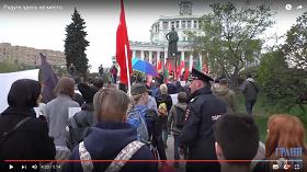 Радуге здесь не место: Кощунственный «Парад Содомитов» на Пасху (Видео)