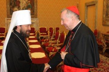 Госсекретарь Ватикана запланировал встречи в Москве на самом высоком уровне