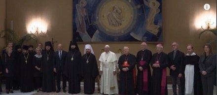 Экуменические подробности визита русской делегации в Ватикан