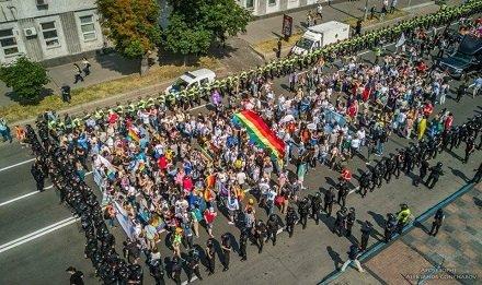 Произошел ритуальный акт осквернения града Киева, матери городов русских.