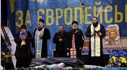 Союз «церквей майдана» сливает протесты своей паствы против насаждения содомии на Украине