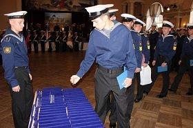 Восстановлена еще одна традиция Флота Российского