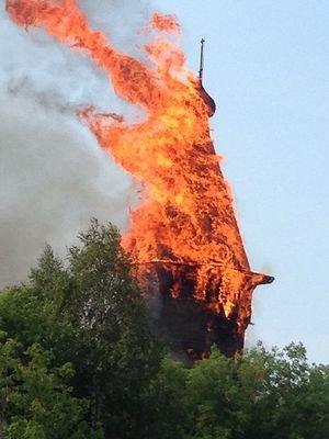 «Подросток-сатанист появился не из пустоты»: Протодиакон Владимир Василик о сожжении старинной церкви в Кондопоге