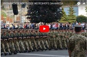 Украинское мясо для железного занавеса (Видео)