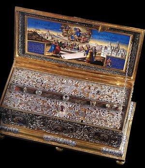 Положение честного Пояса Пресвятой Богородицы в Халкопратийском храме