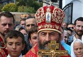 Митрополит Онуфрий выбрал крест (Видео)