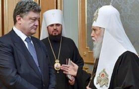 Украинские раскольники обязаны поминать за Литургией Святейшего Патриарха Кирилла