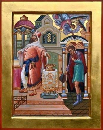 Поучение 1-е в неделю мытаря и фарисея: Характер мытаря и фарисея