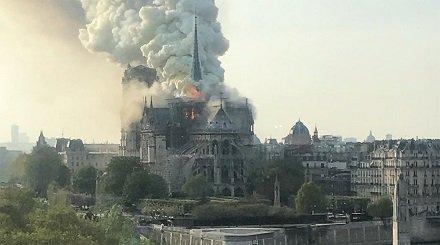Символический пожар. Во Франции сгорел главный храм христианской Европы