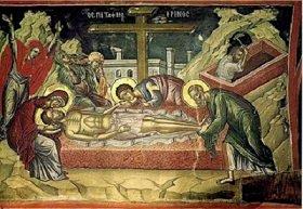 Слово в Великую Субботу: Кто любит своего Спасителя, тот не оставит Его гроба