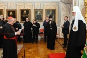 Католический «десант» в Троице-Сергиевой Лавре