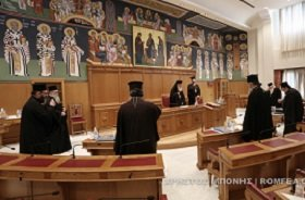 Св. Синод Элладской Православной Церкви единогласно отказался менять правила причащения верующих из-за пандемии